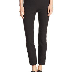 Vince Black Trouser Leggings with Side Zip - 2